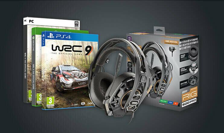 Syyskuun WRC 9 -kisa: Voita WRC 9 -peli haluamallesi alustalle ja Plantronicsin kuulokkeet!