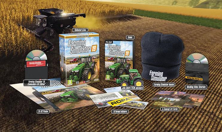 Marraskuun kisa: VOITA Farming Simulator 19 -keräilyversio!