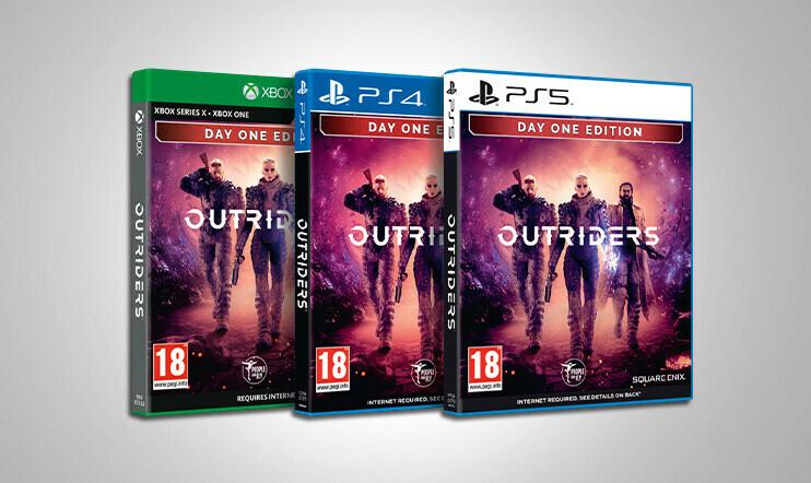 Huhtikuun kisa: Voita Outriders-peli valitsemallesi konsolille!