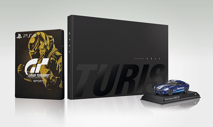 Lokakuun Gran Turismo Sport Collector's Edition -kilpailu!