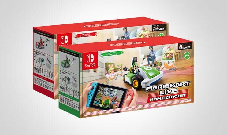 Lokakuun Mario Kart Live -kilpailu: Voita vauhdikas Mario Kart Live: Home Circuit -paketti!