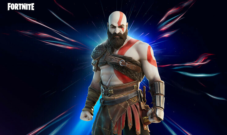 Kratos, God of War, Fortnite, Epic Games, Halo, Master Chief