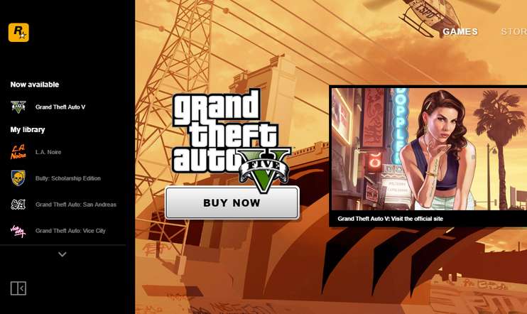 Rockstar Games Launcher, Rockstar Games, Rockstar, GTA, Launcher, San Andreas, Red Dead Redemption,
