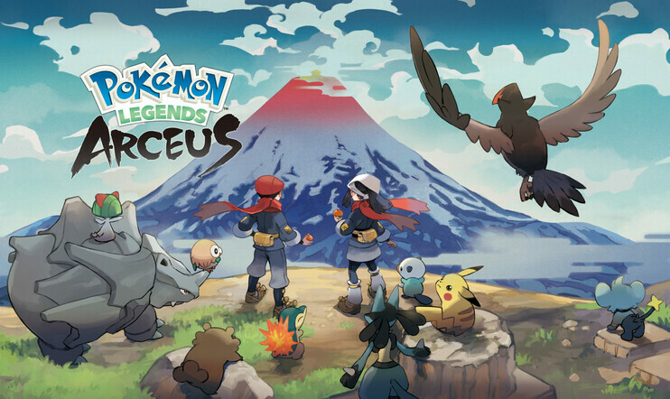 Pokémon, Pokémon Legends, Pokémon Legends: Arceus, julkaisupäivä, Diamond, Pearl, Brillaint Diamond, Shiny Pearl, Nintendo, Switch