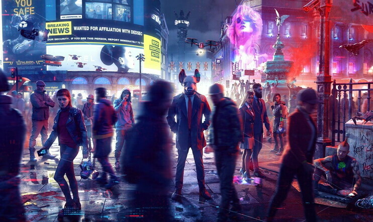 Watch Dogs, Watch Dogs Legion, Rainbow Six Quarantine, Gods & Monsters, Ubisoft, Breakpoint,