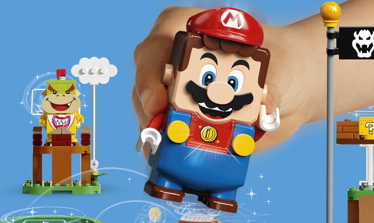 Lego Super Mario, Nintendo, Lego, lelu