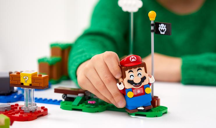 Lego Super Mario, nintendo, Bowser's Castle Boss Battle, Piranha Plant Power Slide