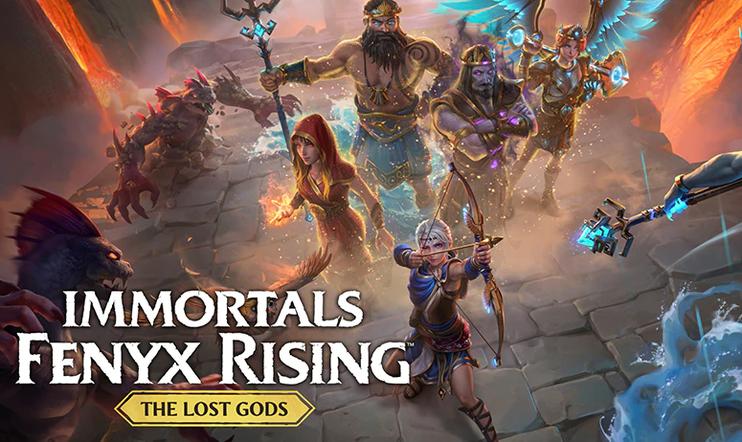 Immortals Fenyx Rising, The Lost Gods, Ubisoft, DLC, julkaisupäivä,