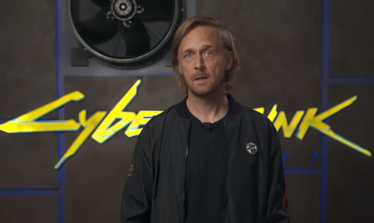 CD Projekt, Cyberpunk 2077, Marcin Iwiński, video, anteeksi
