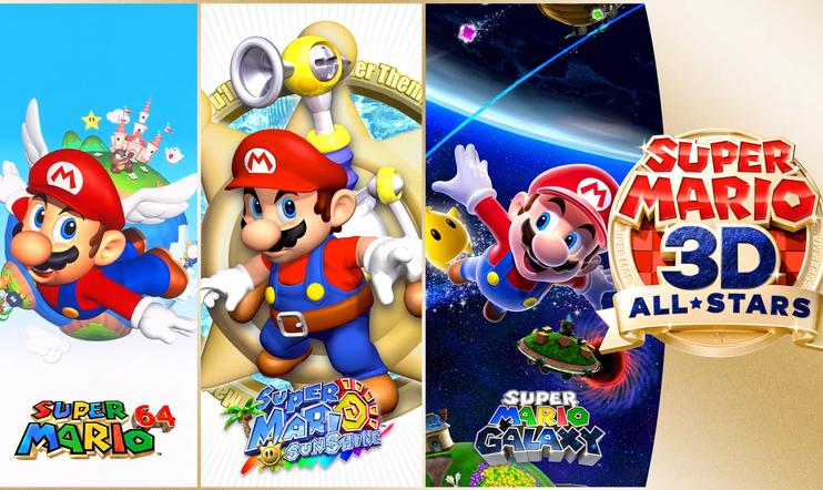 Super Mario 3D All-Stars, Super Mario, super mario sunshine, Super Mario Galaxy, julkaisupäivä, nintendo, Switch