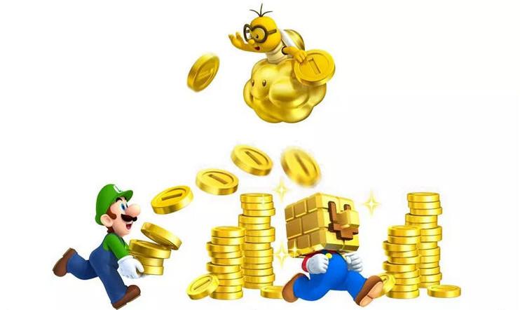 Mariolla riittää massia täysihintaisiin peleihin.