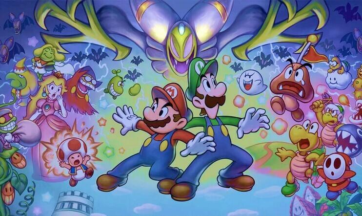 AlphaDream, roolipeli, Mario & Luigi, Nintendo, konkurssi,