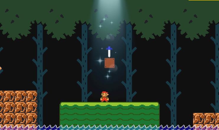 Super Mario Maker 2, Super Mario maker, The Legend of Zelda, Zelda, link, Master Sword, päivitys, Nintendo Switch