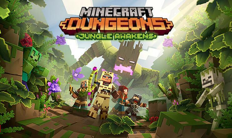 Minecraft Dungeonsin Jungle Awakens -lisäsisältö on saapunut.