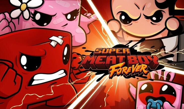 Super Meat Boy Forever, Super Meat Boy, Team Meat, julkaisupäivä, tasoloikka