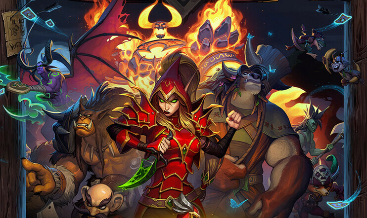 Hearthstone, Mercenaries, Blizzard, Blizzard Entertainment, Forged in the Barrens