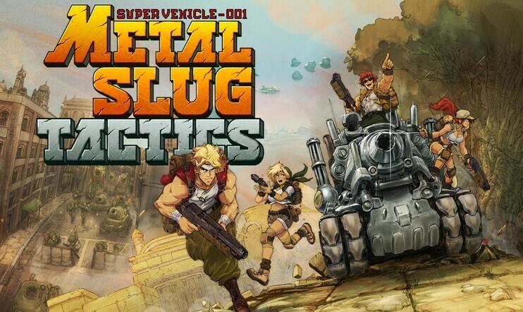 Metal Slug Tactics, Metal Slug, Dotemu, Leikir Studio, strategia