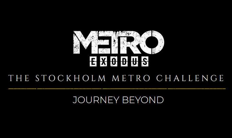 Kaupallinen yhteistyö: Oletko piipahtamassa Tukholmassa? Suuntaa metrotunneleihin ja osallistu Metro Exodus -haasteeseen