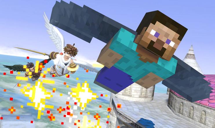 Minecraft, Super Smash Bros. Super Smash Bros. Ultimate, julkaisupäivä, Nintendo, Mojang, Microsoft,