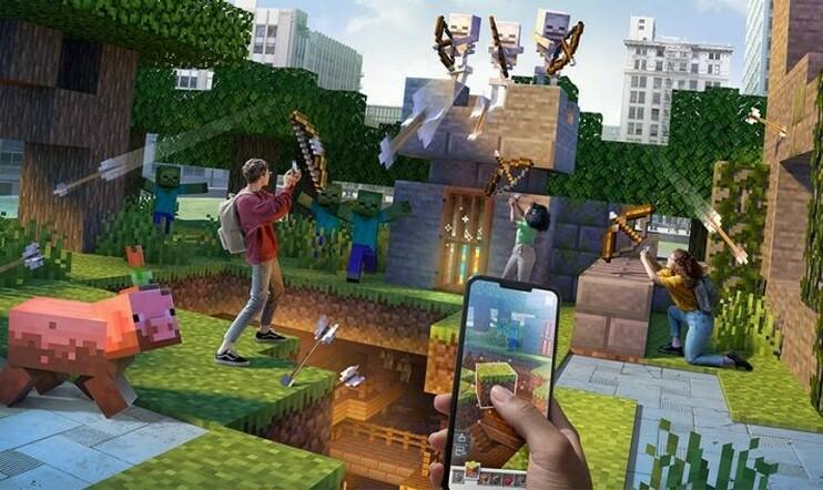 Minecraft Earth, Minecraft, Microsoft, Mojang, Pokémon GO, mobiili, AR, lisätty todellisuus