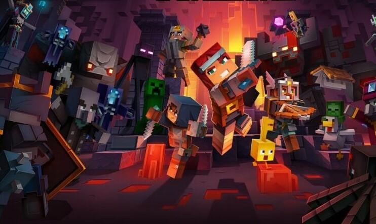 Tältä näyttää uusi Minecraft-seikkailu Minecraft Dungeons