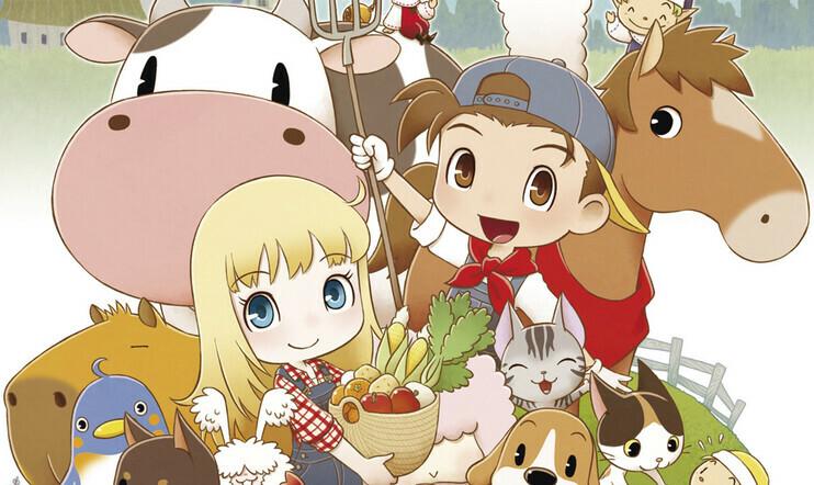 Harvest Moon, Story of Seasons, Friends of Mineral Town, Marvelous, julkaisupäivä, 10. heinäkuuta,
