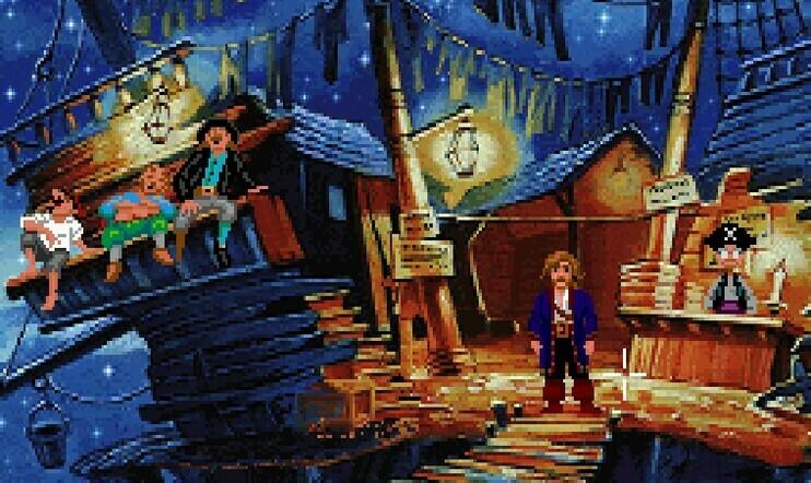 Lukijat ovat puhuneet, Monkey Island, Viikon kysymys, LucasArts, Ron Gilbert