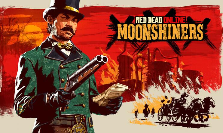 Red Dead Online, Red Dead Redemption 2, pontikka, moonshiner, Rockstar Games,