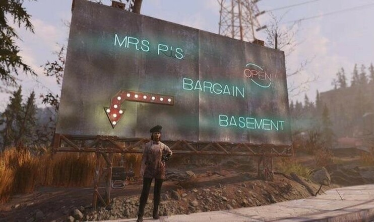 Mrs P's Bargain Basement Fallout 76