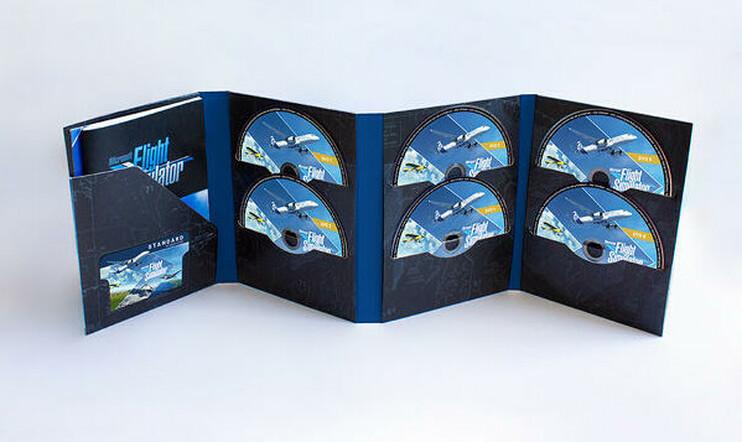 Uusi Microsoft Flight Simulator haukkaa kymmenen levyä.