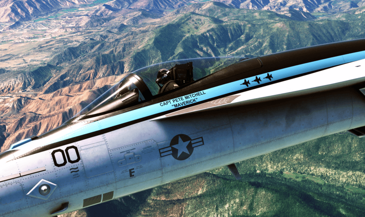 Microsoft Flight Simulator, Top Gun, laajennus