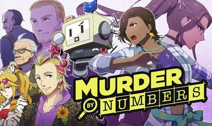 Murder by Numbers, picross, nonogram, japanilainen ristikko, Mediatonic, Phoenix Wright,