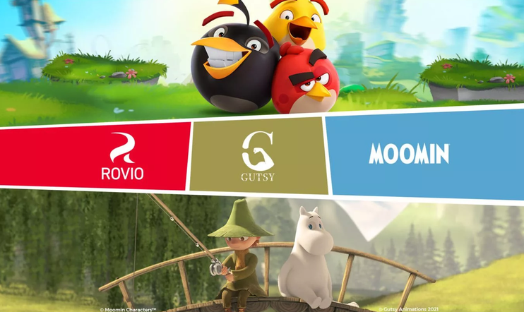 Rovio, Muumi, Muumilaakso, Angry Birds, Mooming Characters, Gutsy Animation, Suomi