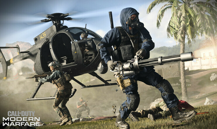 activision, call of duty, modern warfare, Gun Game