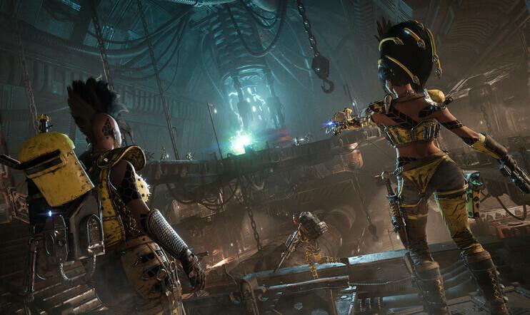 Necromunda: Underhive Wars, Warhammer, Warhammer 40 000, SRPG, taktiikkaroolipeli,