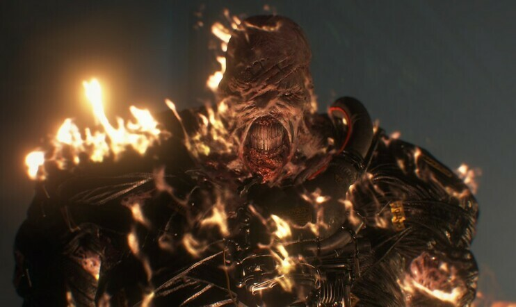Nemesis, Resident Evil 3, resident evil, Capcom