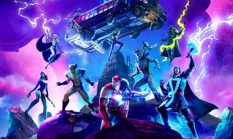 Fortnite, Marvel, Chapter 2, Season 4, Epic Games,