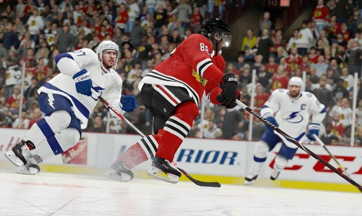 NHL 19 screenshot, NHL 19 pc, NHL 19 battle royale, Sean Ramjagsingh, NHL 19, EA Sports