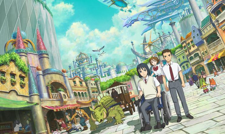 Ni No Kuni, NiNoKuni, Netflix, Dragon Quest, Dragon Quest: Your Story, elokuva