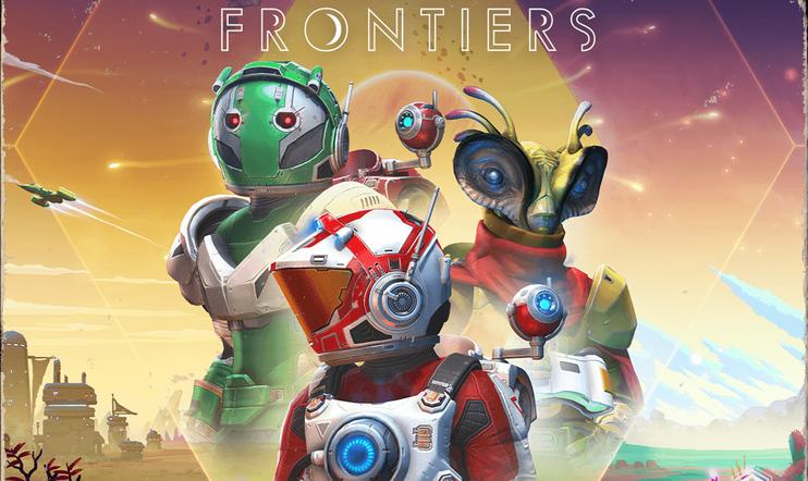 No Man's Sky, Frontiers, Hello Games, päivitys