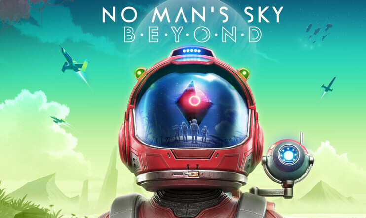 Pelaajan videotestissä No Man's Sky Beyond ja avaruuden lypsykoneet