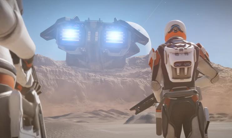 Elite Dangerous: Odyssey, Odyssey, Space, avaruus, simulaatio, Frontier Developments, 2021