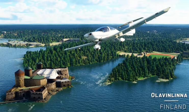 Microsoft Flight Simulator, World Update, Nordic, simulaatio, lento,