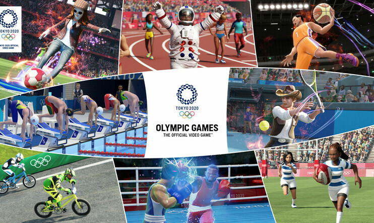 olympialaiset, Olympic Games Tokyo 2020: The Official Video Game, Olympic Games Tokyo 2020, The Official Video Game, Sega