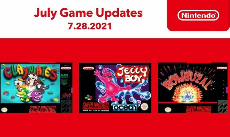 Nintendo Switch Online, Switch, retro, Shin Megami Tensei if, Claymates, Jelly Boy, Bumbuzal, nintendo