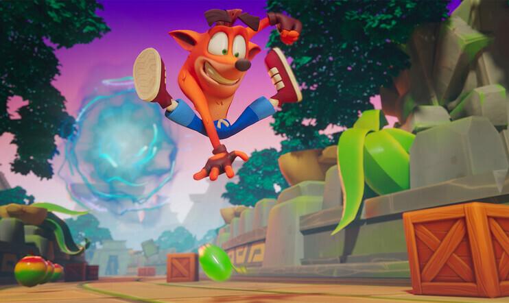 Crash Bandicoot: On the Run, Crash Bandicoot, On the Run, mobiili, King, activision, julkaisupäivä