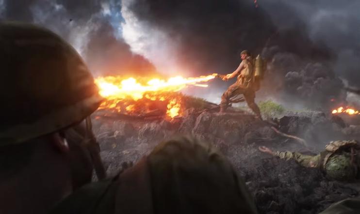 Battlefield V, battlefield, tyynimeri, War in the Pacific, Iwo Jima, Wake Island, DICE, EA