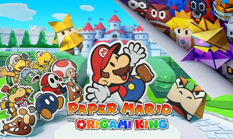 Paper Mario: The Origami King, Paper Mario, 17. heinäkuuta, Nintnedo, Switch, The Origami King,