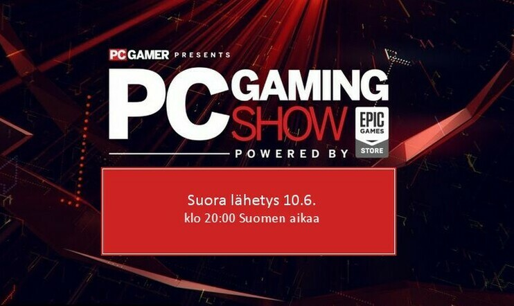 Suora E3 2019 -lähetys: PC Gaming Show -lähetys