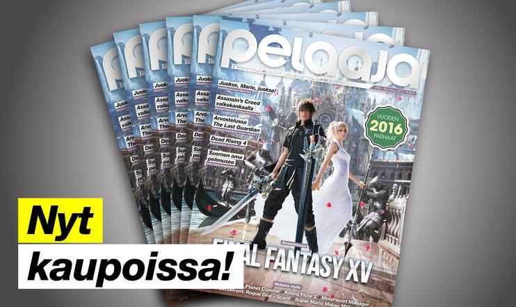 Tammikuun Pelaaja-lehti numero 172 nyt kaupoissa!